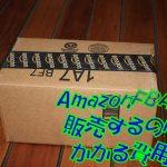 AmazonFBAで販売するのにかかる費用はどれくらい?大口と小口の違いとは?