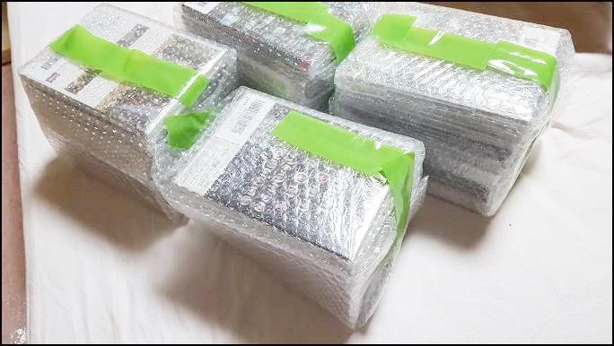 FBA納品設定 ラベル貼り付け・梱包