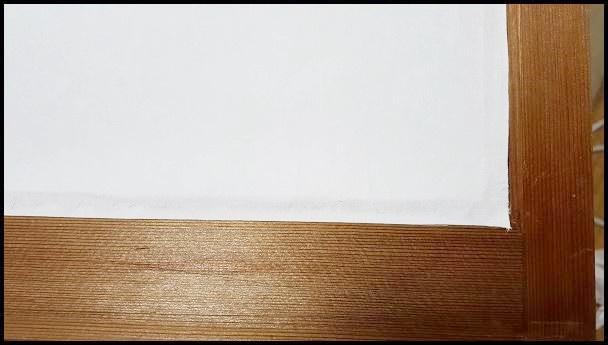 雪見障子の張り替え方【素人がDIYで挑戦した記録】