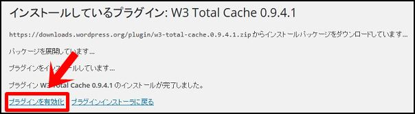 W3 Total Cache導入4