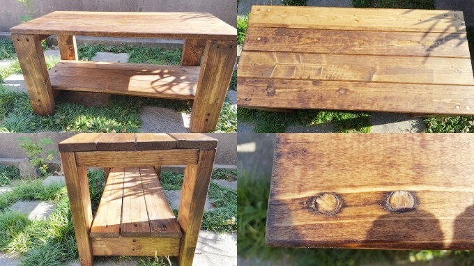 ベッドサイドテーブルの作り方~北欧風インテリアをDIYしよう!