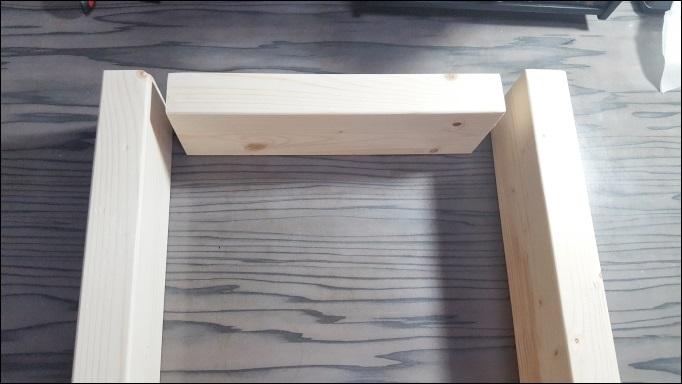 4本足の組み立て