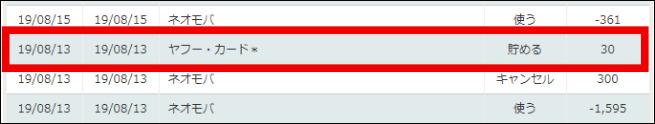 スマート ICOCAのチャージ方法 Yahooカード1回3,000円のチャージでTポイントが30ポイント貯まる