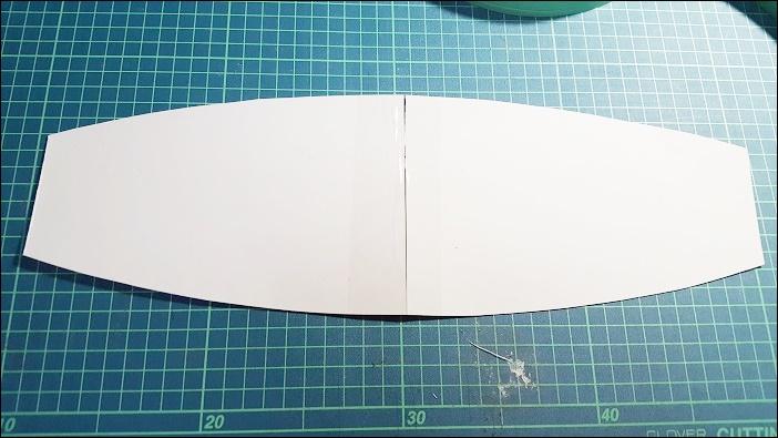 基本のカーテンタッセルの作り方 線になぞってハサミでカット