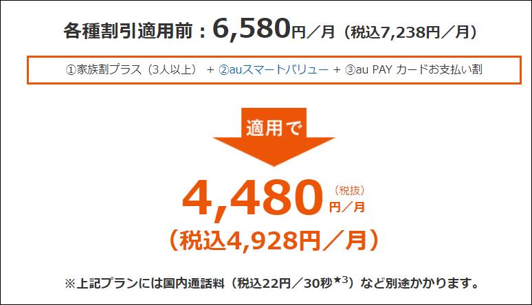 使い放題MAX 4G/5G